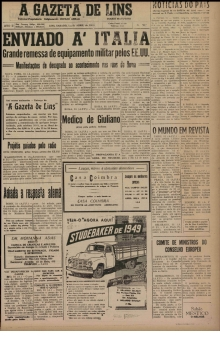 A Gazeta de Lins - 1950 - Abril